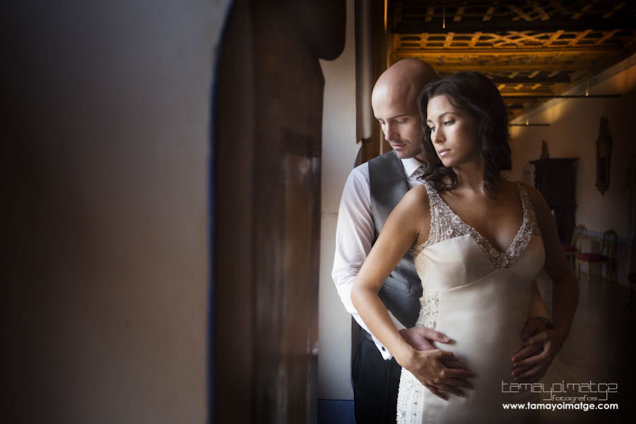 Post-boda romántica de Vicente y Olga