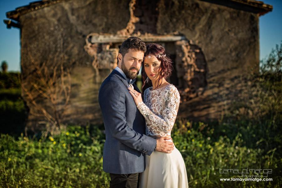 Post-boda en el campo de Patri y Manolo
